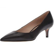 Women's Black Leather Pump